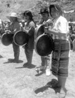 Igorot gong playing at Cordillera Day | Photo by Dave Richards